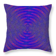 Opposing Forces Throw Pillow