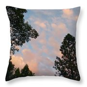 Opposite The Sunset Throw Pillow