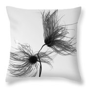 Opposites Obstruct Throw Pillow