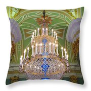 The Beauty Of St. Catherine's Palace Throw Pillow