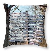Options Throw Pillow