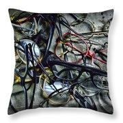 Optometrist Nightmare Throw Pillow