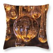 Opulent Luminescence Throw Pillow