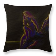 Or Disappear Into The Sea Throw Pillow
