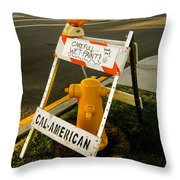 Orange And Ninth Coronado California Throw Pillow