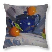 Orange Pekoe Tea Throw Pillow