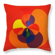 Orb 11 Throw Pillow