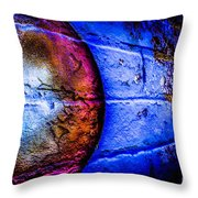 Orbiting The Wall Throw Pillow