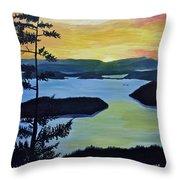 Orcas Island Throw Pillow