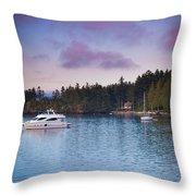 Orcas Viewpoint Throw Pillow