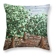 Orchard 4 Throw Pillow