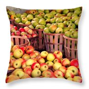 Orchard Time Throw Pillow