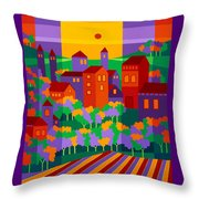 Orchard Villa Throw Pillow