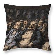 Orchestra Seat Throw Pillow