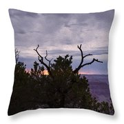 Orchestrating A Sunset At The Grand Canyon Throw Pillow