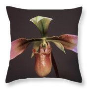 Orchid 102 Throw Pillow