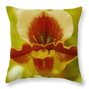 Orchid 124 Throw Pillow
