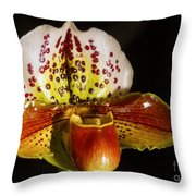 Orchid 130 Throw Pillow