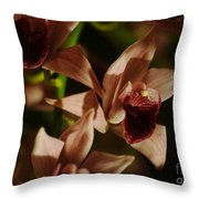 Orchid 137 Throw Pillow