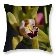 Orchid 148 Throw Pillow