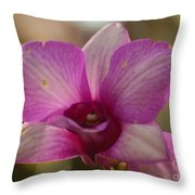 Orchid 152 Throw Pillow