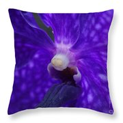 Orchid 196 Throw Pillow