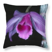 Orchid 9 Throw Pillow