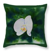 Orchid Dance 1 Throw Pillow