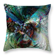Orchid Dreams Throw Pillow