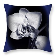 Orchid Elegance 2 Throw Pillow