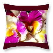 Orchid Series 6 Throw Pillow