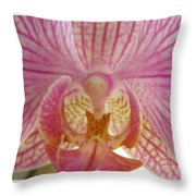 Orchid You Happy Throw Pillow