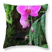 Orchid2705 Throw Pillow