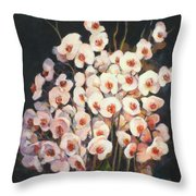 Orchids 2010 Throw Pillow