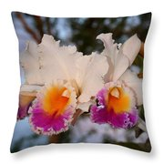 Orchid Elsie Sloan Throw Pillow