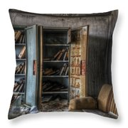 Orderly Office  Throw Pillow