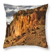 Oregon Climbers Paradise Throw Pillow