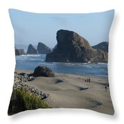 Oregon Coast 1 Throw Pillow