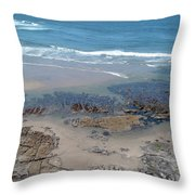 Oregon Coast Beauty Throw Pillow