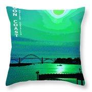 Oregon Coast IIi Throw Pillow