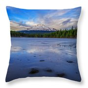 Oregon January Throw Pillow