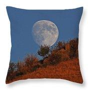 Oregon Moon Throw Pillow