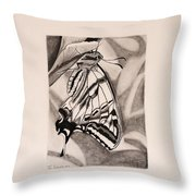 Oregon Swallowtail Butterfly  Throw Pillow
