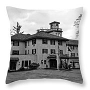 Oregon - The Columbia Gorge Hotel Throw Pillow