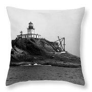 Oregon Tillamook Lighthouse - 1891 Throw Pillow