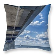 Oresundsbron Hdr Throw Pillow