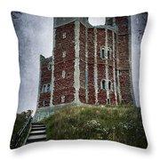 Orford Castle Throw Pillow