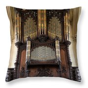 Organ Chapel Royal - Dublin Castle Throw Pillow
