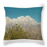 Organ Mountain Wilderness Throw Pillow