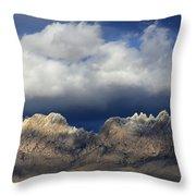 Organ Mountains New Mexico Throw Pillow